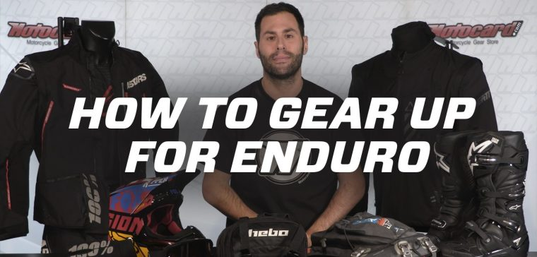 how to gear up for enduro