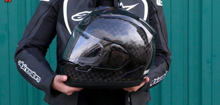 Partes del casco de moto