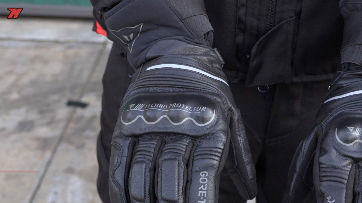 Los guantes Dainese Universe Gore-tex Gore Grip talla M