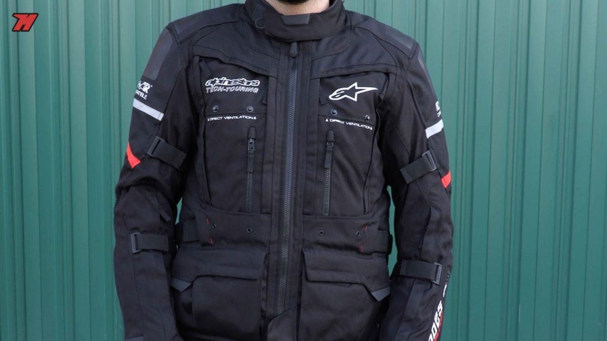 Esta chaqueta Alpinestars Andes Pro Drystar es una talla L