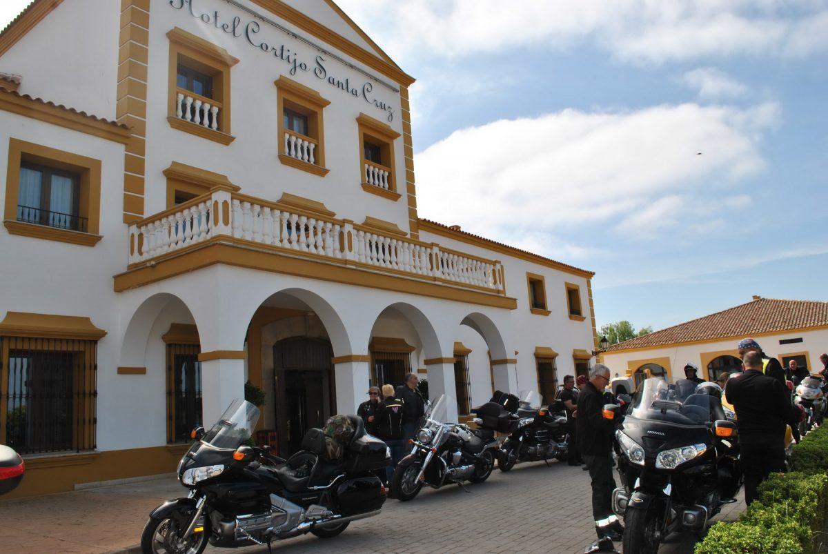 La concentración motera de Rota es una de las más populares del calendario. Fuente: MotoClub Rota