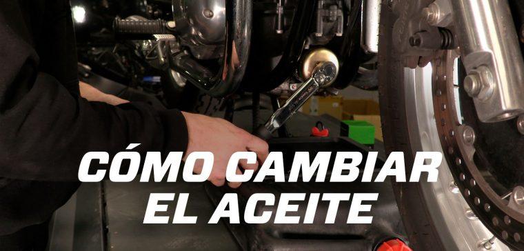 cómo cambiar el aceite de moto en 6 pasos