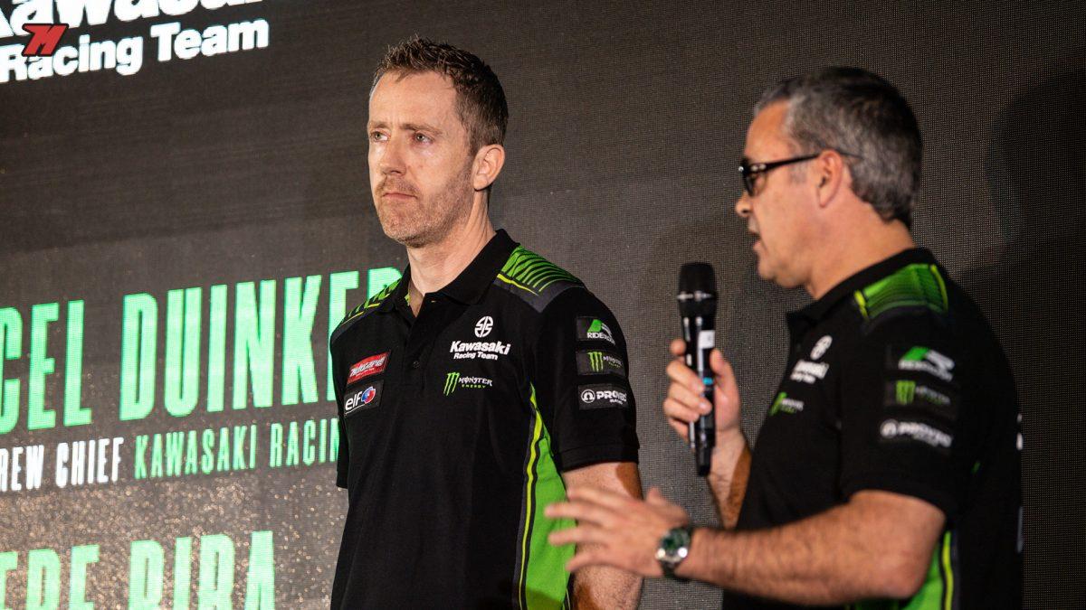 Marcel y Pere son los responsables técnicos de los dos pilotos.