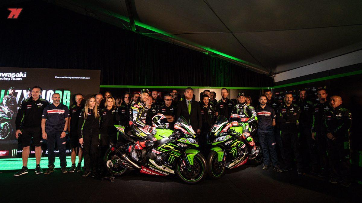 Así luce el Kawasaki Racing Team para este 2019
