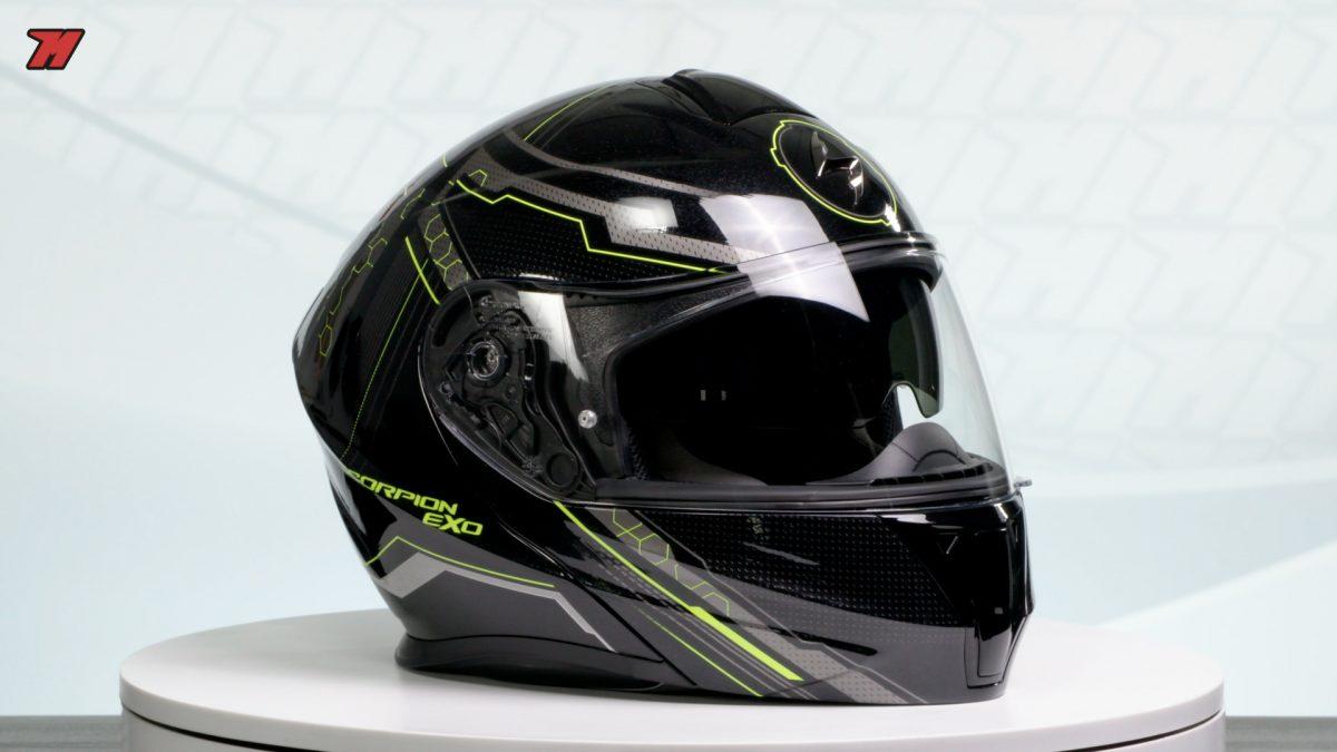 El Scorpion Exo 920 es un casco modular por menos de 200