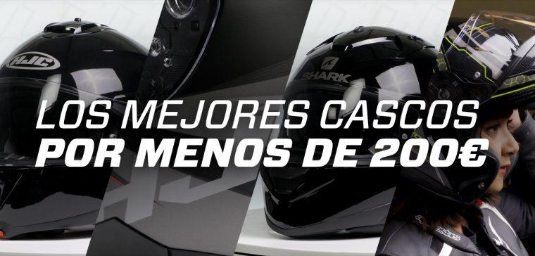 Los mejores cascos de moto por 200 euros