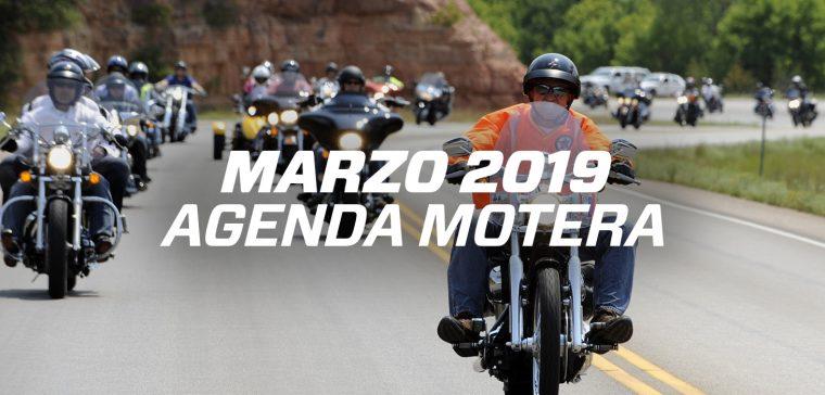 Concentraciones moteras y eventos marzo 2019