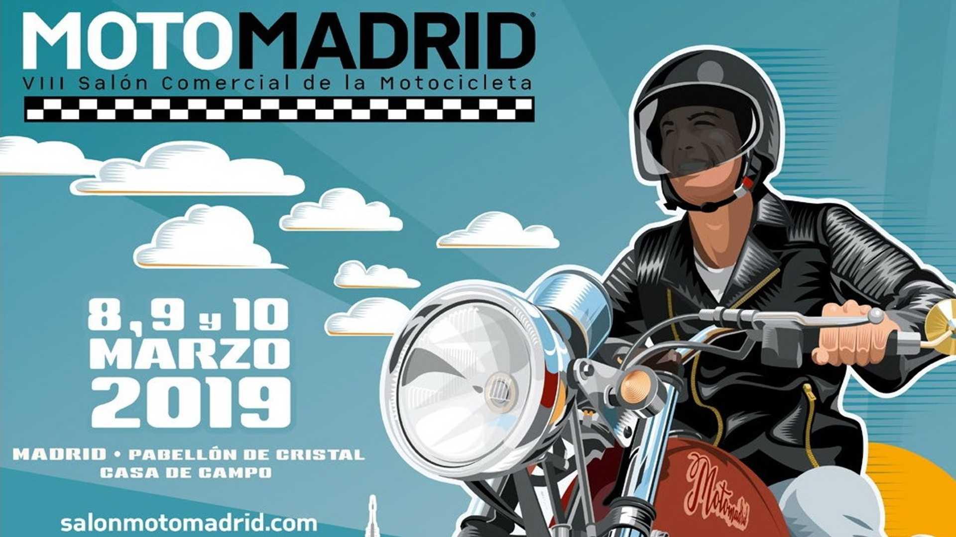 Concentraciones moteras y eventos marzo 2019 motomadrid
