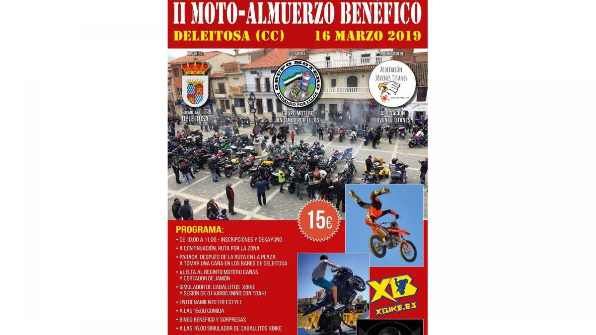 Concentraciones moteras y eventos marzo 2019 moto almuerzo benefico andando por ellos