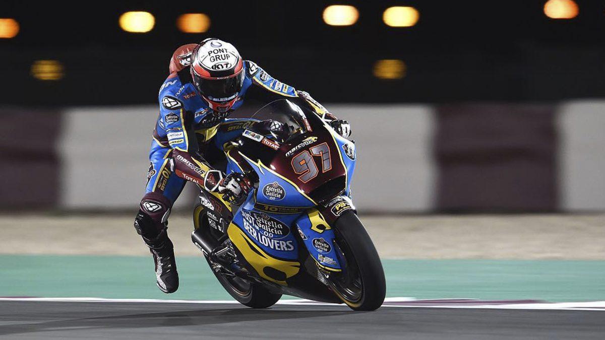 xavi vierge 2019 moto2 test qatar