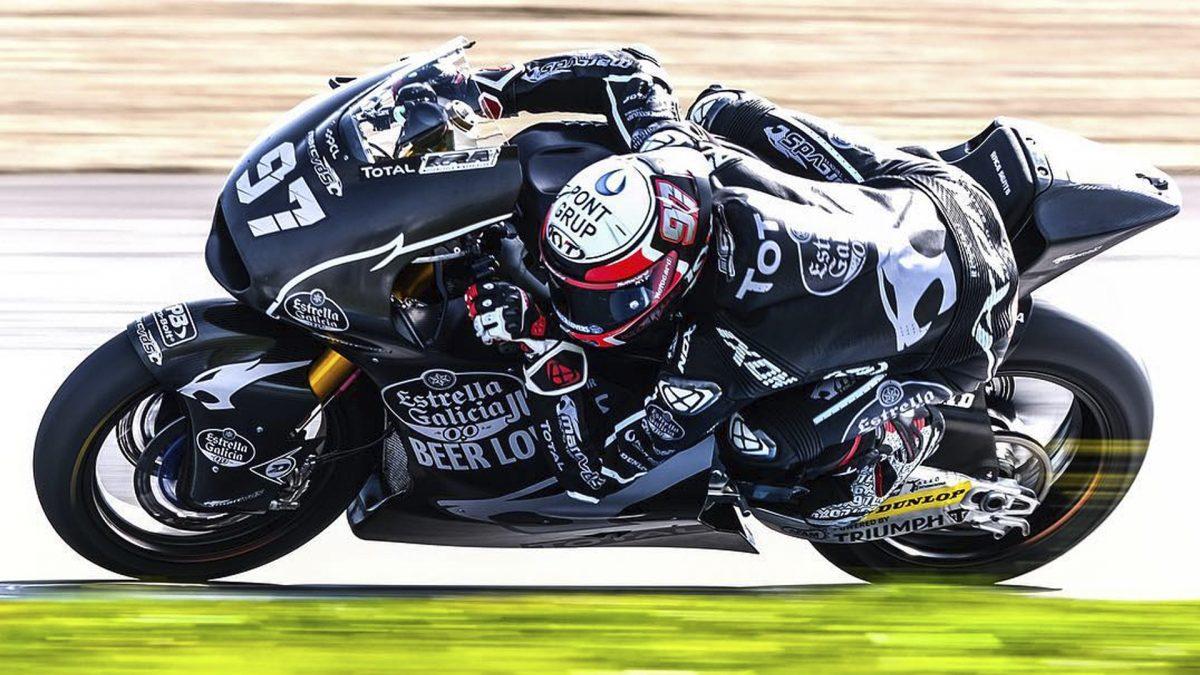 xavi vierge 2019 moto2 test jerez