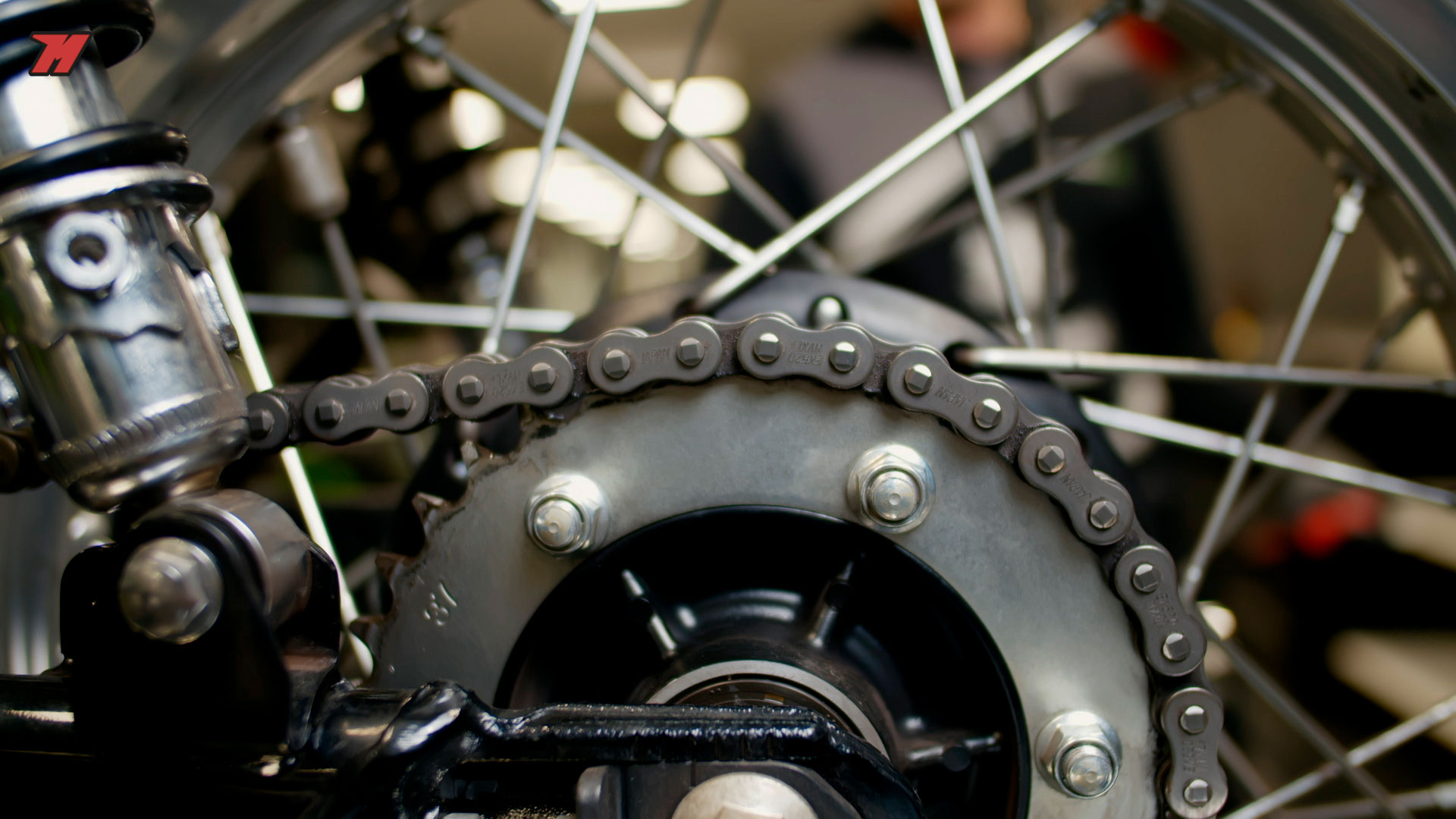 Tips and tricks to get the motorcycle chain in good