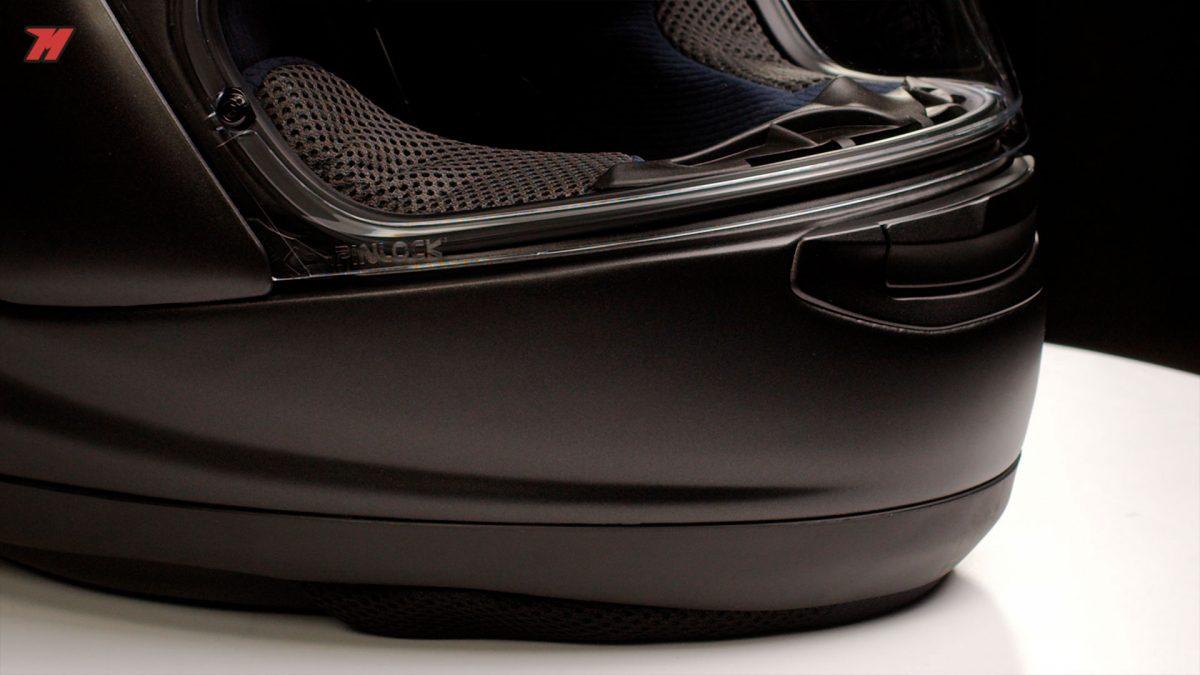 La calidad de materiales y acabados es una de las características de los cascos Arai.