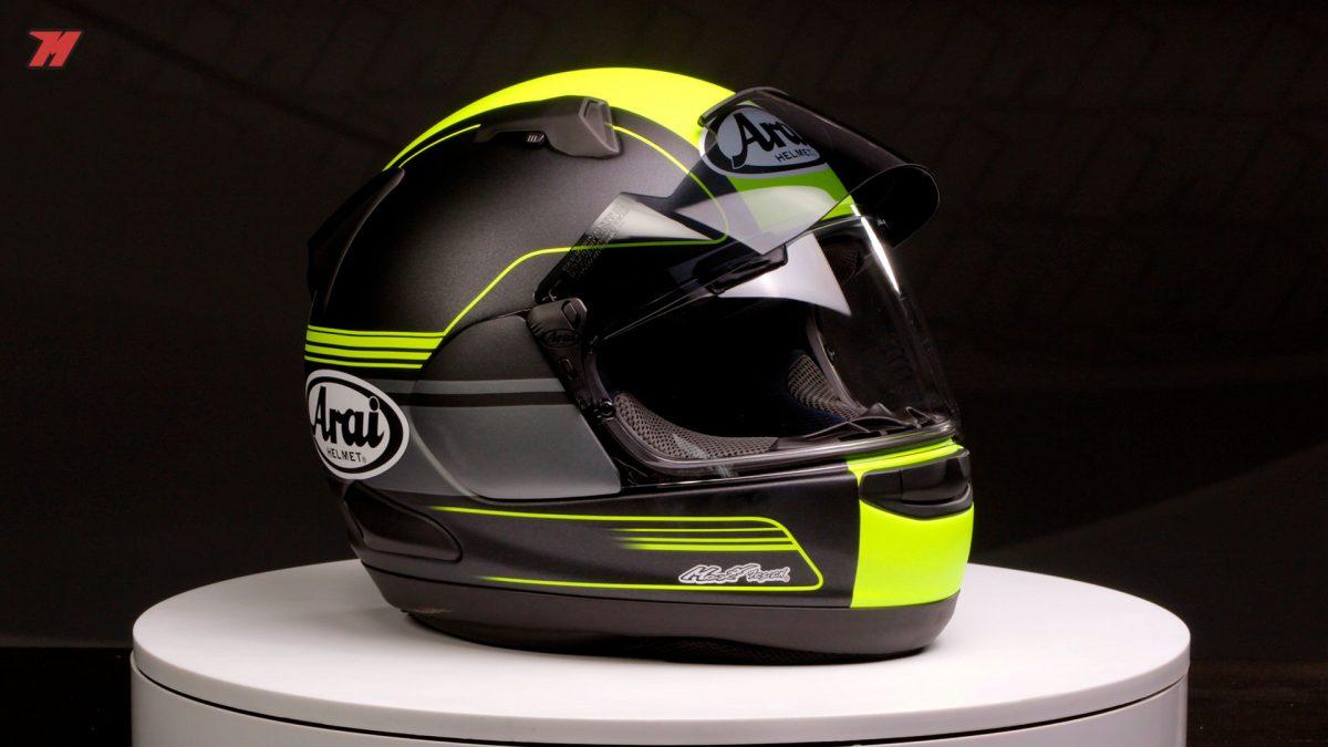 Así es el Arai QV-Pro, el casco más sport-touring de la marca japonesa.