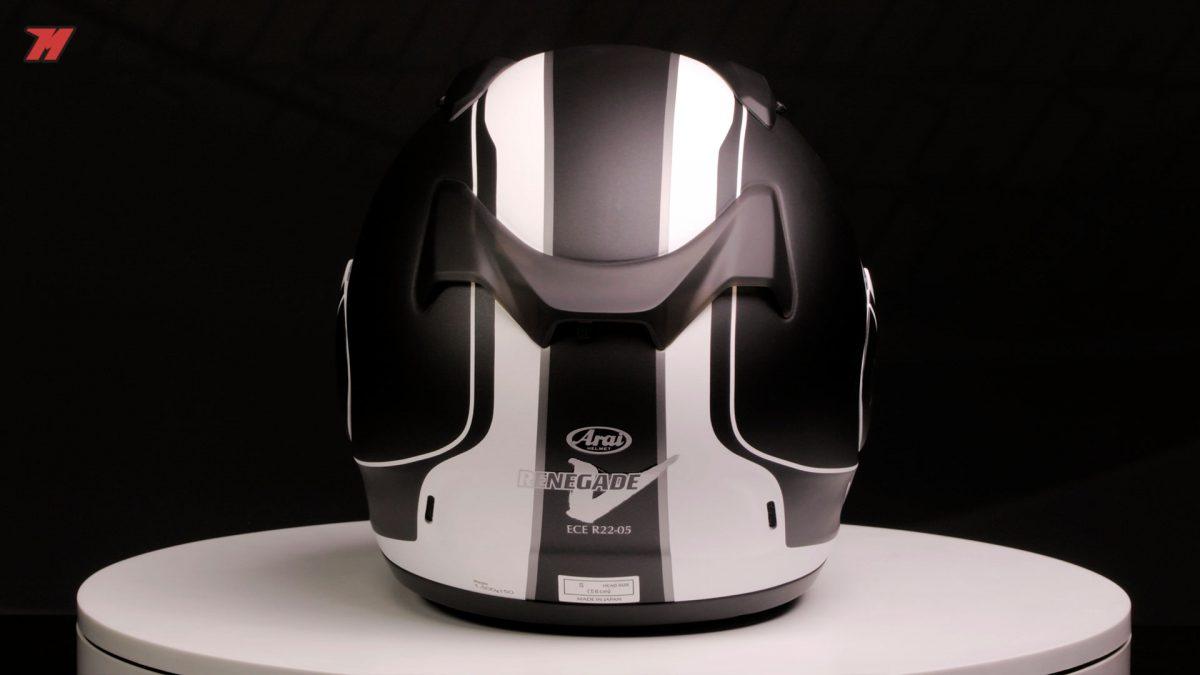 Este casco tiene carácter.