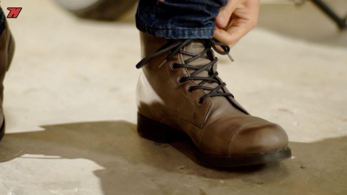 Estas botas también son para ir a trabajar.