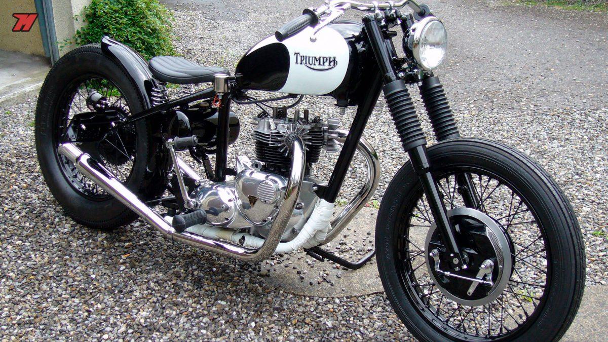 Las motos Bobber han resurgido dentro de la moda vintage.