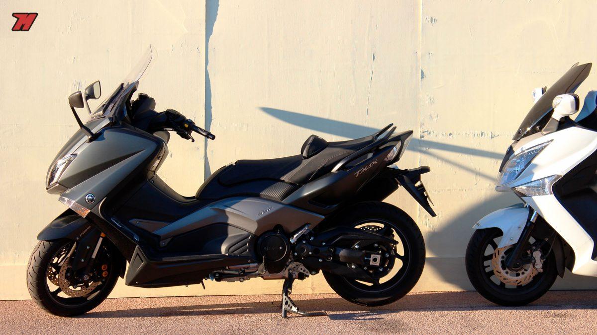 La Yamaha T-Max es una de las motos más robadas en España.
