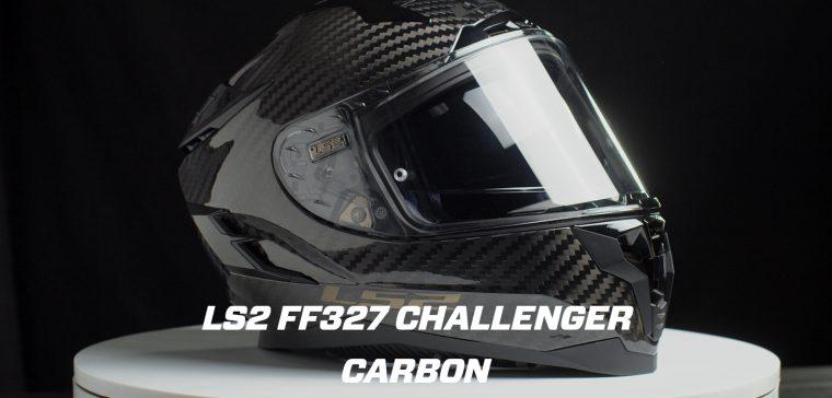 ¿Un casco LS2 de carbono? Así luce el Challenger Carbon.