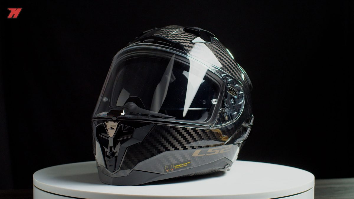 ¡Cómo luce este casco de carbono de LS2!