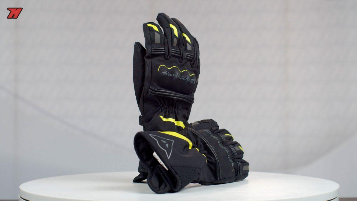 Los guantes Dainese Tempest D-Dry son una buena opción para el invierno.