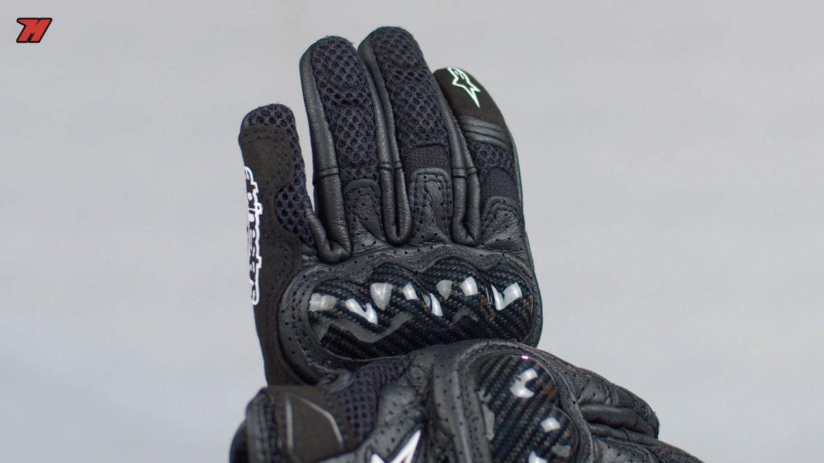 Estos guantes Alpinestars son una buena opción para verano.