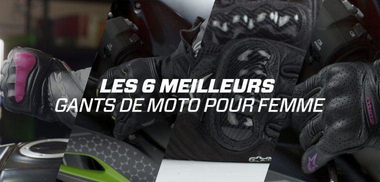 TOP 6 des Meilleurs Gants Moto Femme
