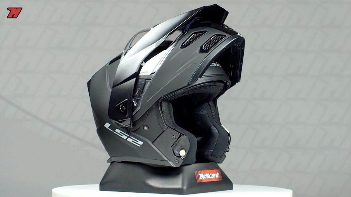 Así es el casco modular y adventure de LS2: el Metro Evo P/J.