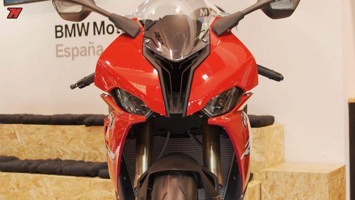 Esta espectacular R de BMW acaparó mucha atención en el Salón de la Moto de Barcelona.