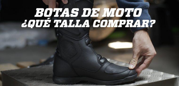 Saber escoger la talla de botas correctamente es esencial para tu seguridad.