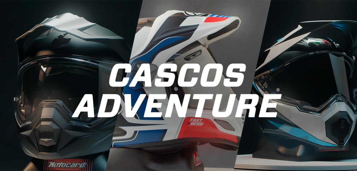 Estos son los mejores cascos de moto adventure.
