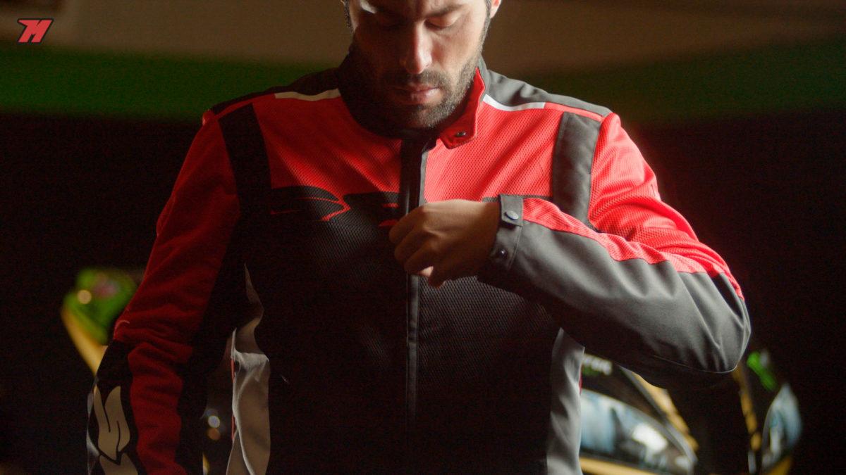 Esta chaqueta es la más ventilada de todas.