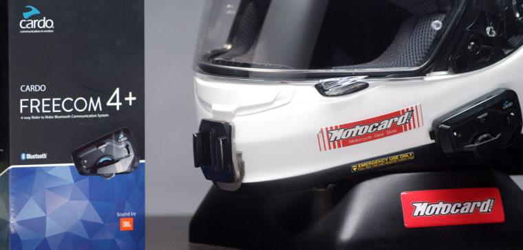 Intercomunicadores de moto Cardo Scala Rider Freecom 1+, 2+ y 4+. ¡Los probamos!
