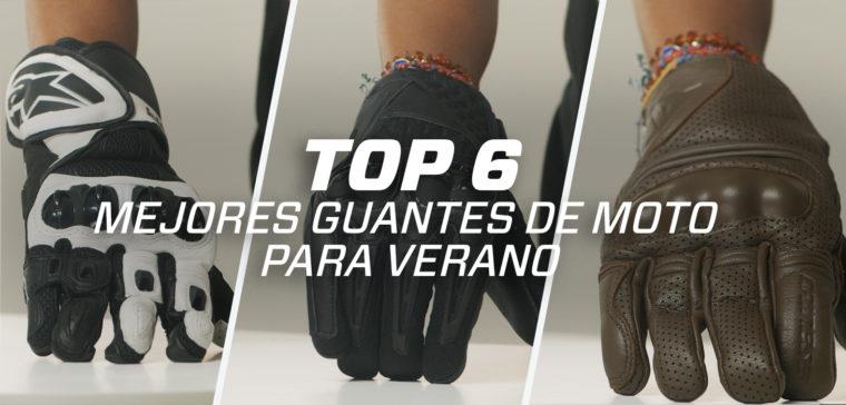 TOP 6 mejores guantes de moto para verano