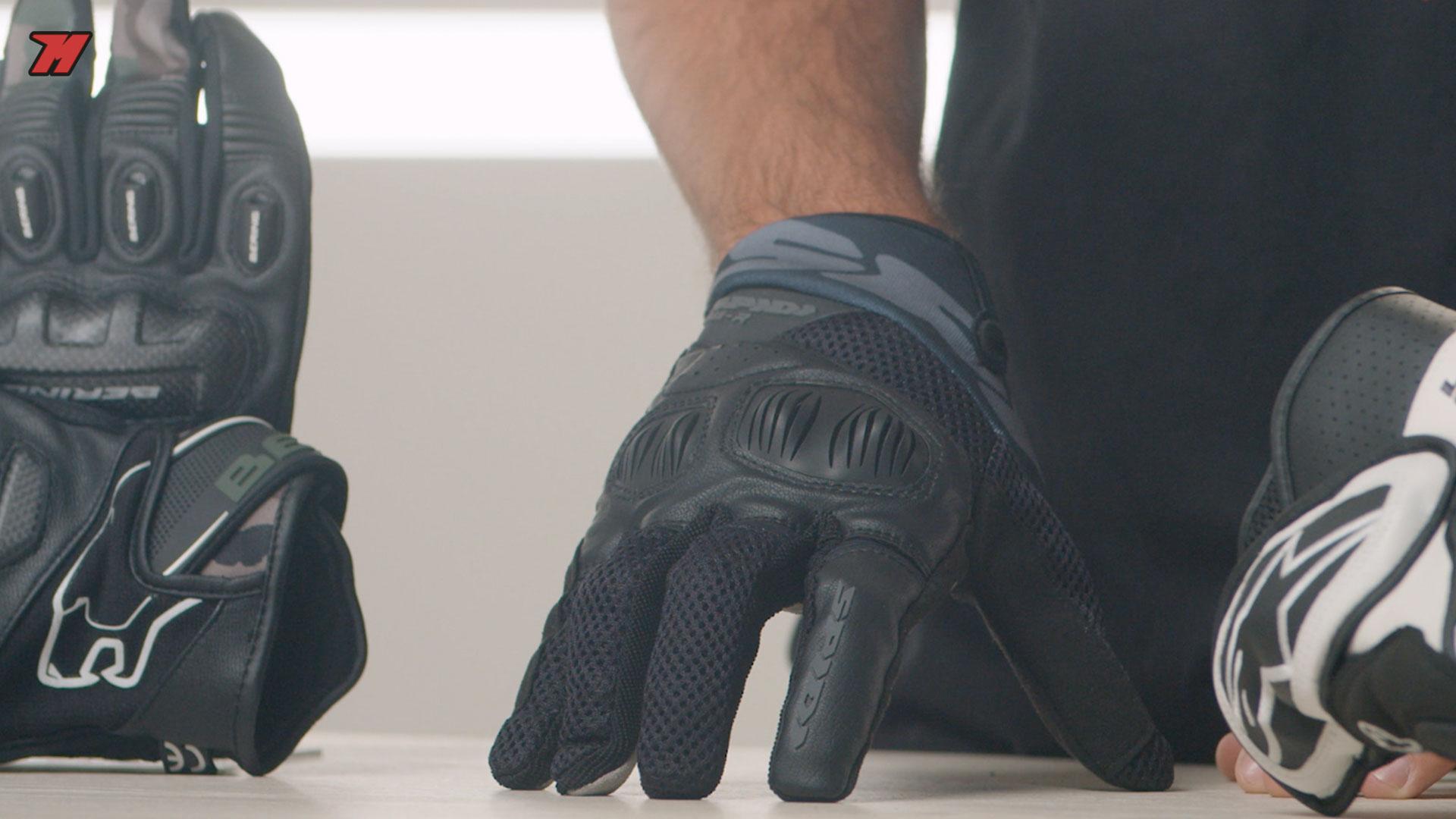 Los Spidi son unos guantes extremadamente cómodos.