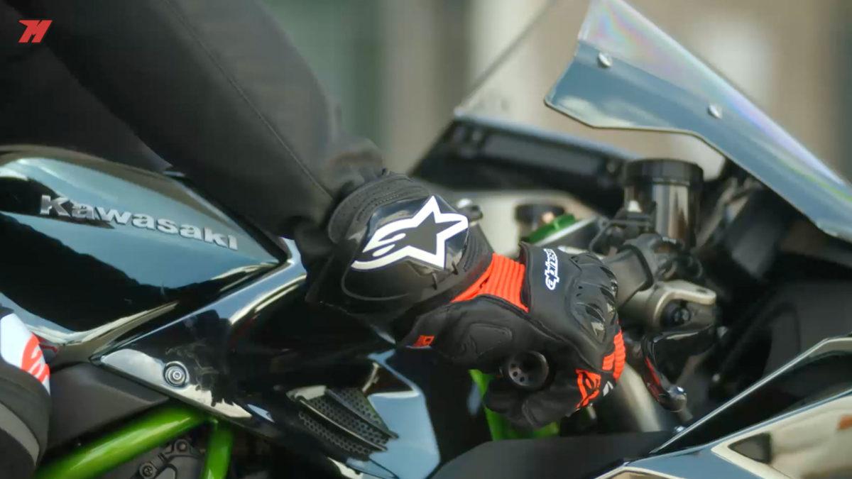 Así lucen estos guantes de Alpinestars. ¿Bonitos, verdad?