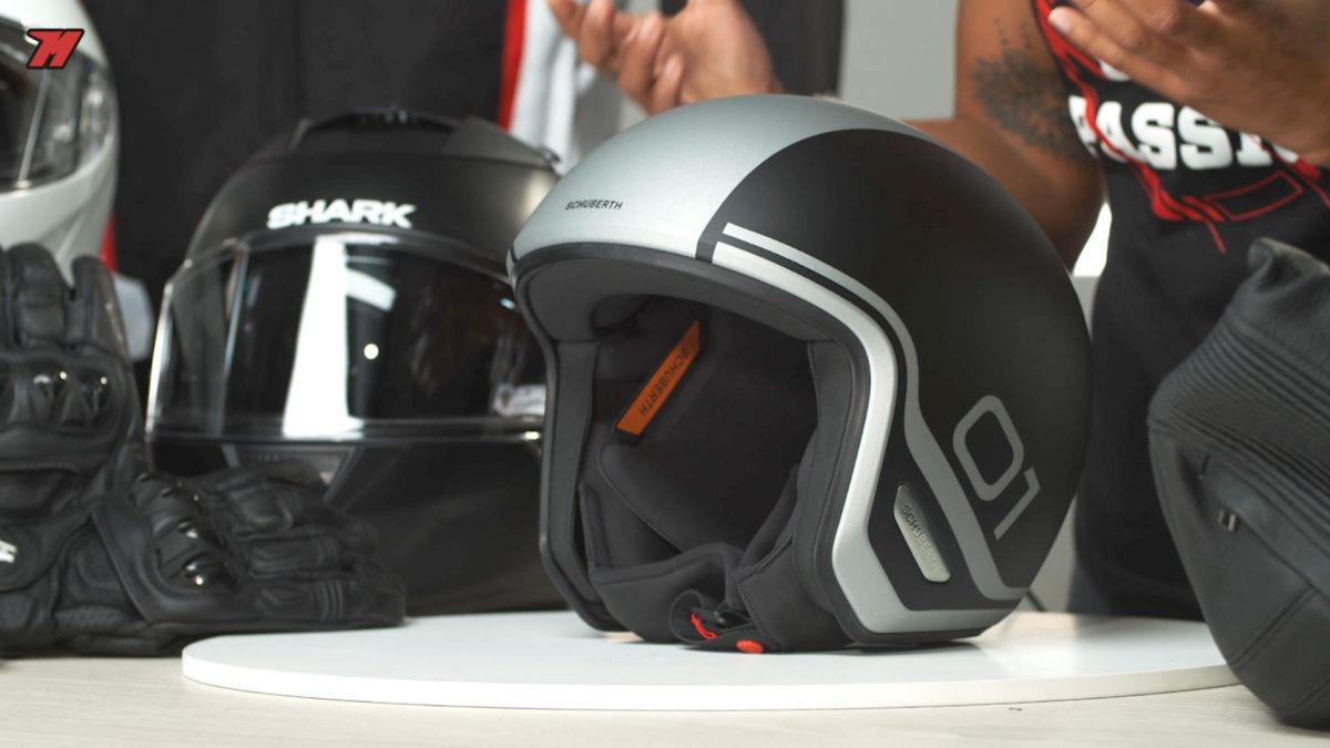 Este casco Schuberth O1 es otra opción para moverse por la ciudad.