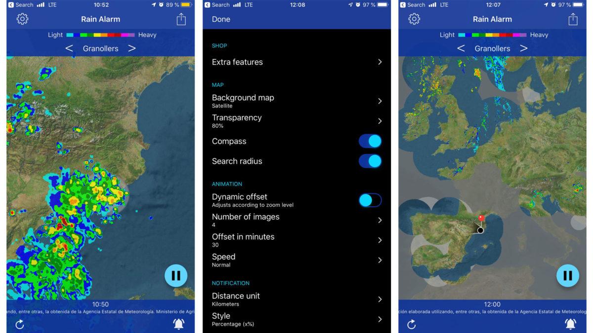 mejores-aplicaciones-moto-app-Rain-Alarm