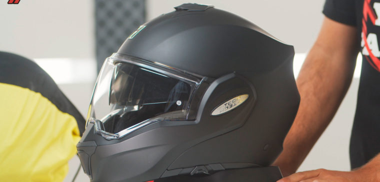 Casco modular Scorpion
