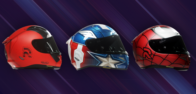 Become a superhero with these Marvel helmets
