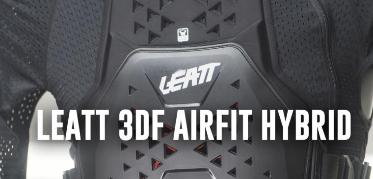Body protector for motocross: Leatt 3DF Airfit Hybrid