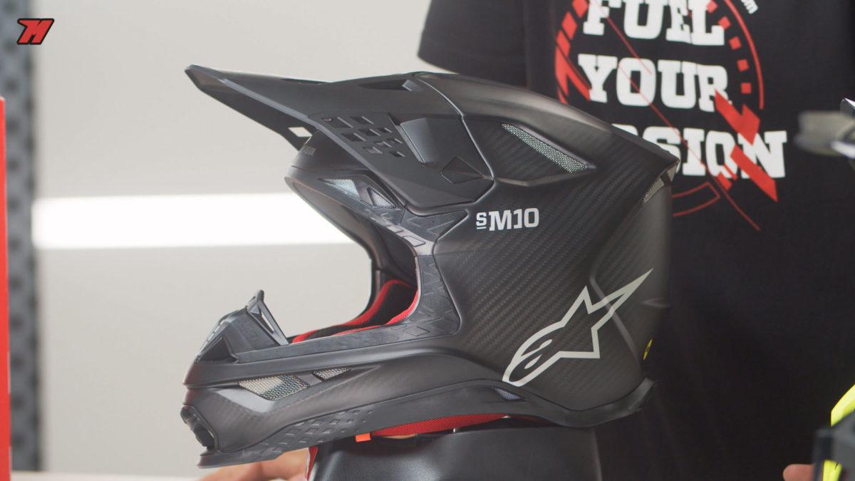 Alpinestars también fabrica cascos: Alpinestars Supertech S-M10