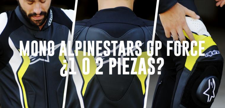 Mono de moto Alpinestars GP Force, ¿1 o de 2 piezas? Elige