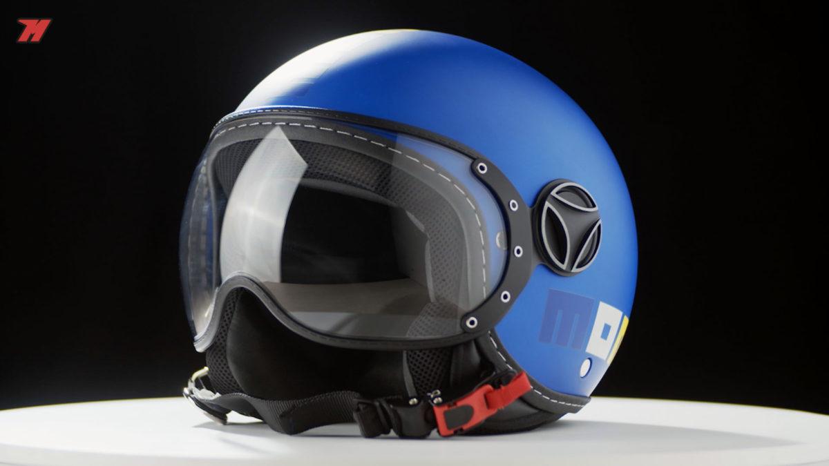 también hay un casco diseñado para niños.