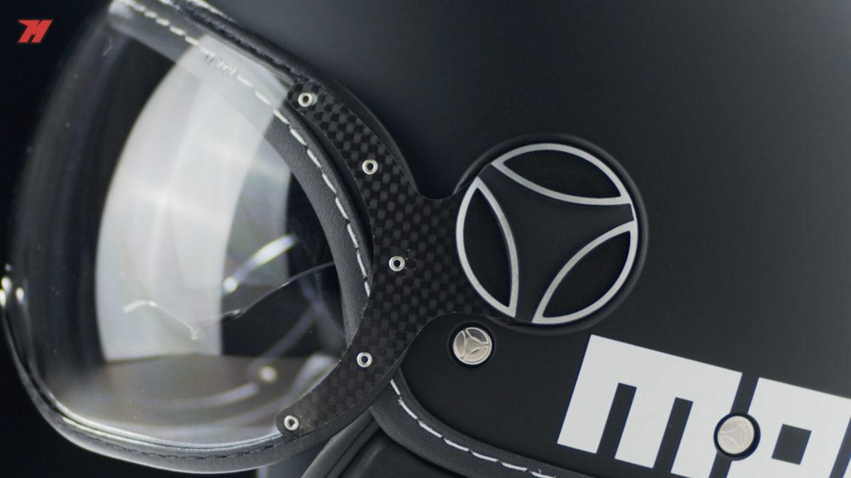 Este casco Momo FGTR Evo es un casco ideal para la ciudad.