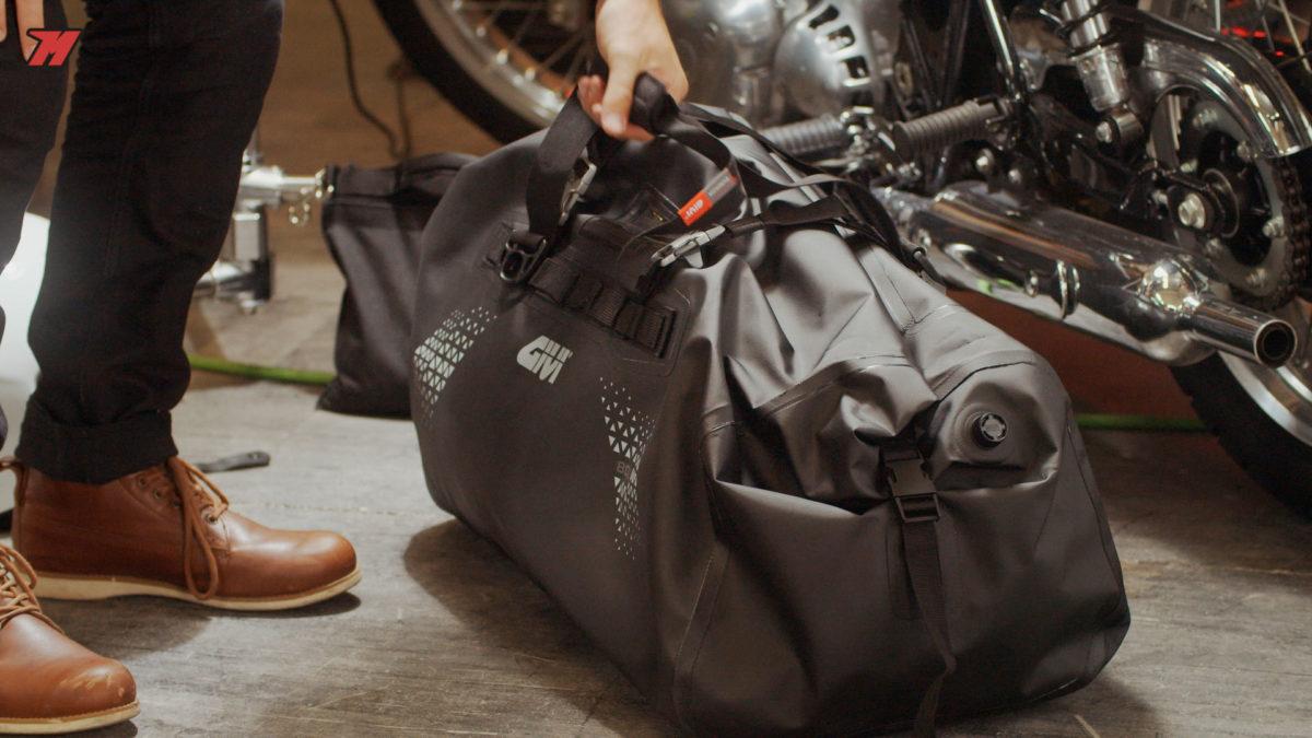 la bolsa Givi UT-804 es la de más capacidad.