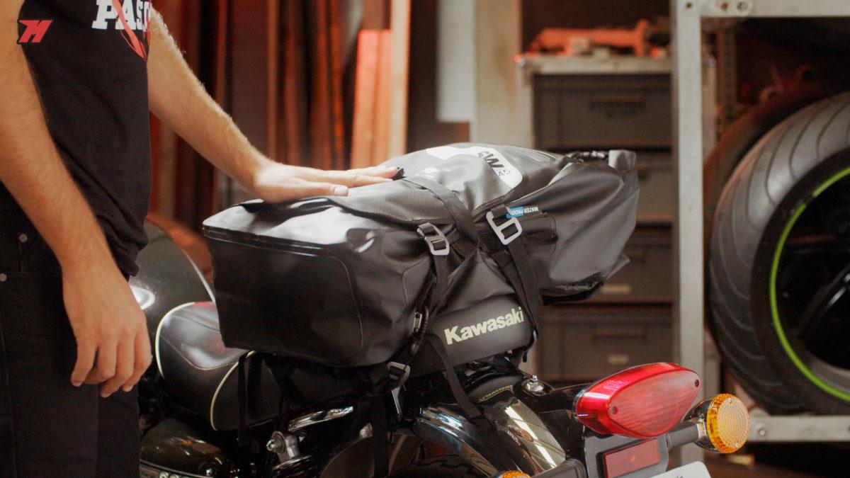 La bolsa Shad SW38 es otra gran opción impermeable.