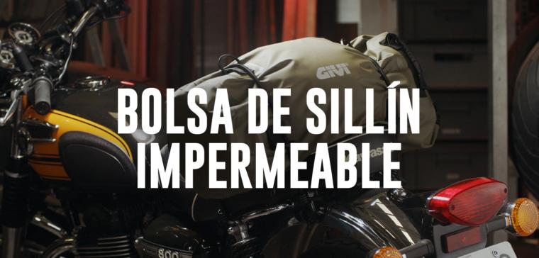 Comparativa en vídeo de las mejores bolsas de moto para sillín impermeables.