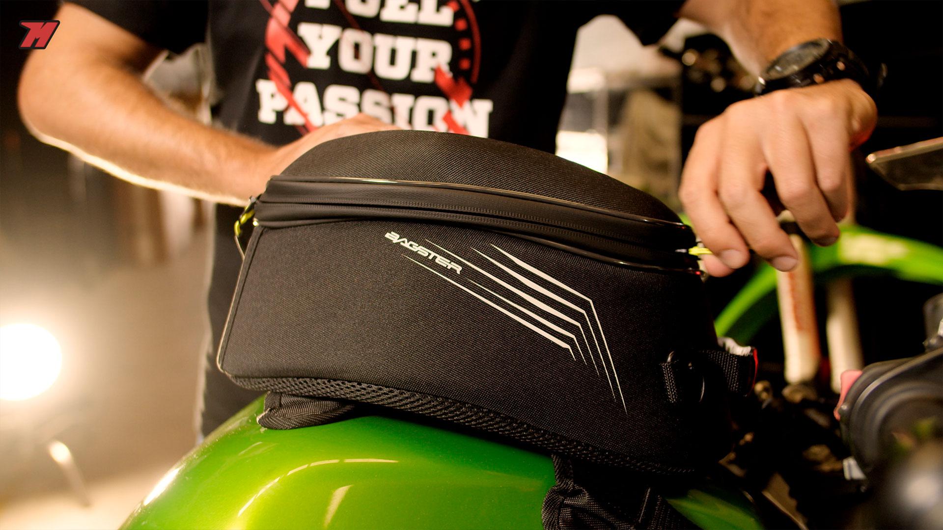 Una bolsa sobredepósito con anclaje magnético puede ser una buena opción.