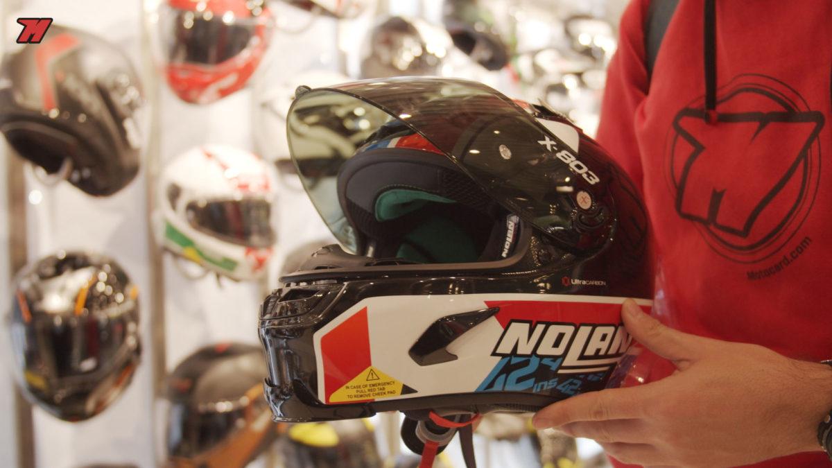 Este casco réplica de Álex Rins es una de las novedades de X-lite